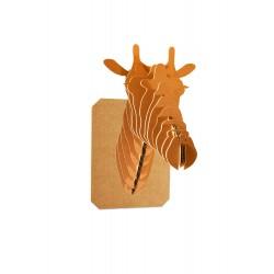 Trophée girafe